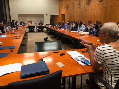 Delegates To The Metro Washington Council AFL CIO Packed Into The  Presidentu0027s Room At The AFL CIO Last Night (right) For The First Meeting Of  The Fall ...